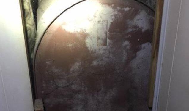 Oil tank found behind a wall. Oil Tank Assurance.